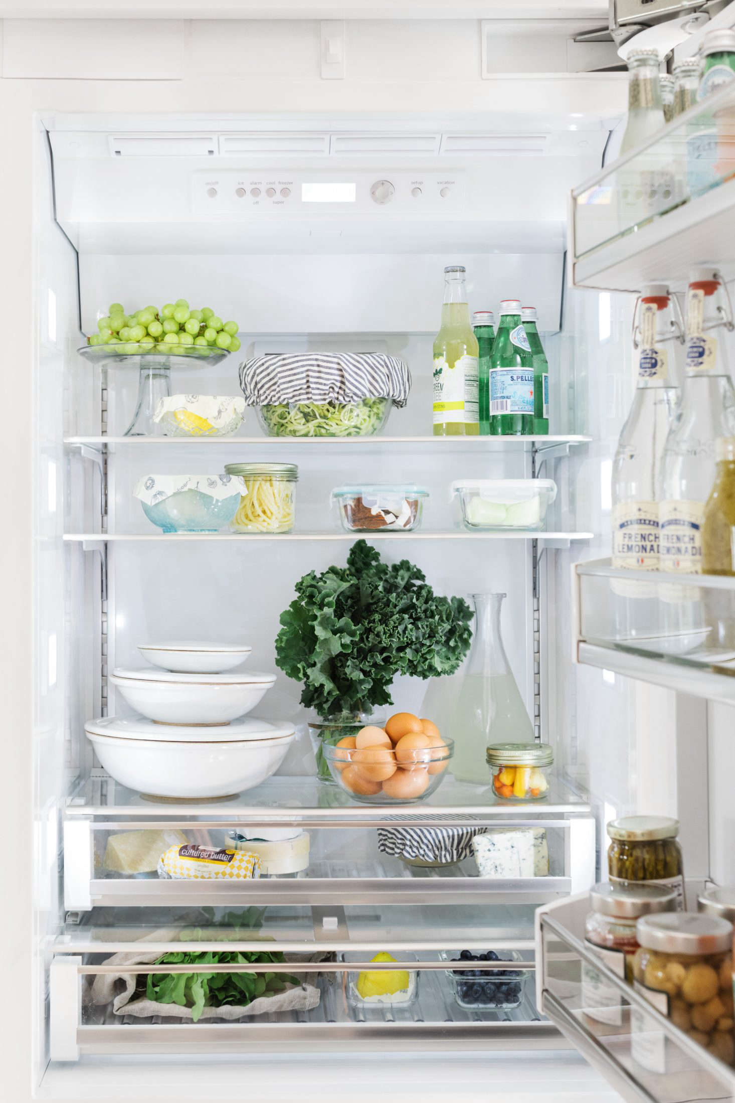 Organized Storage, Crisp Lighting, And Clear Shelves And Drawers Allow You  To See The