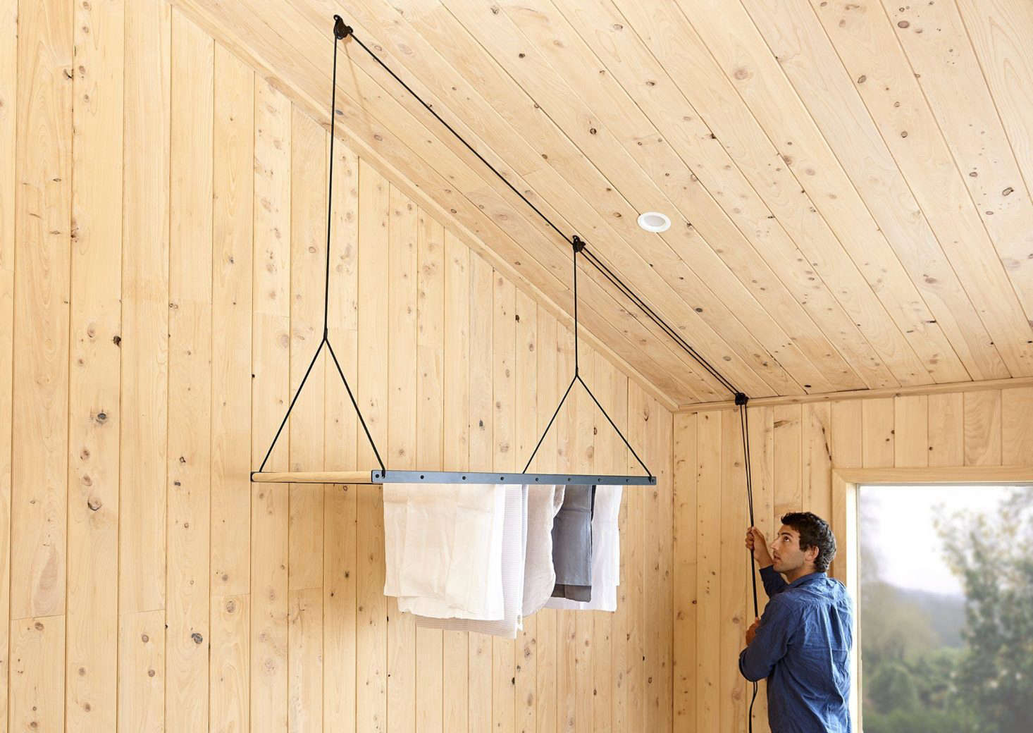 Object Of Desire A Hanging Laundry Rack From A New