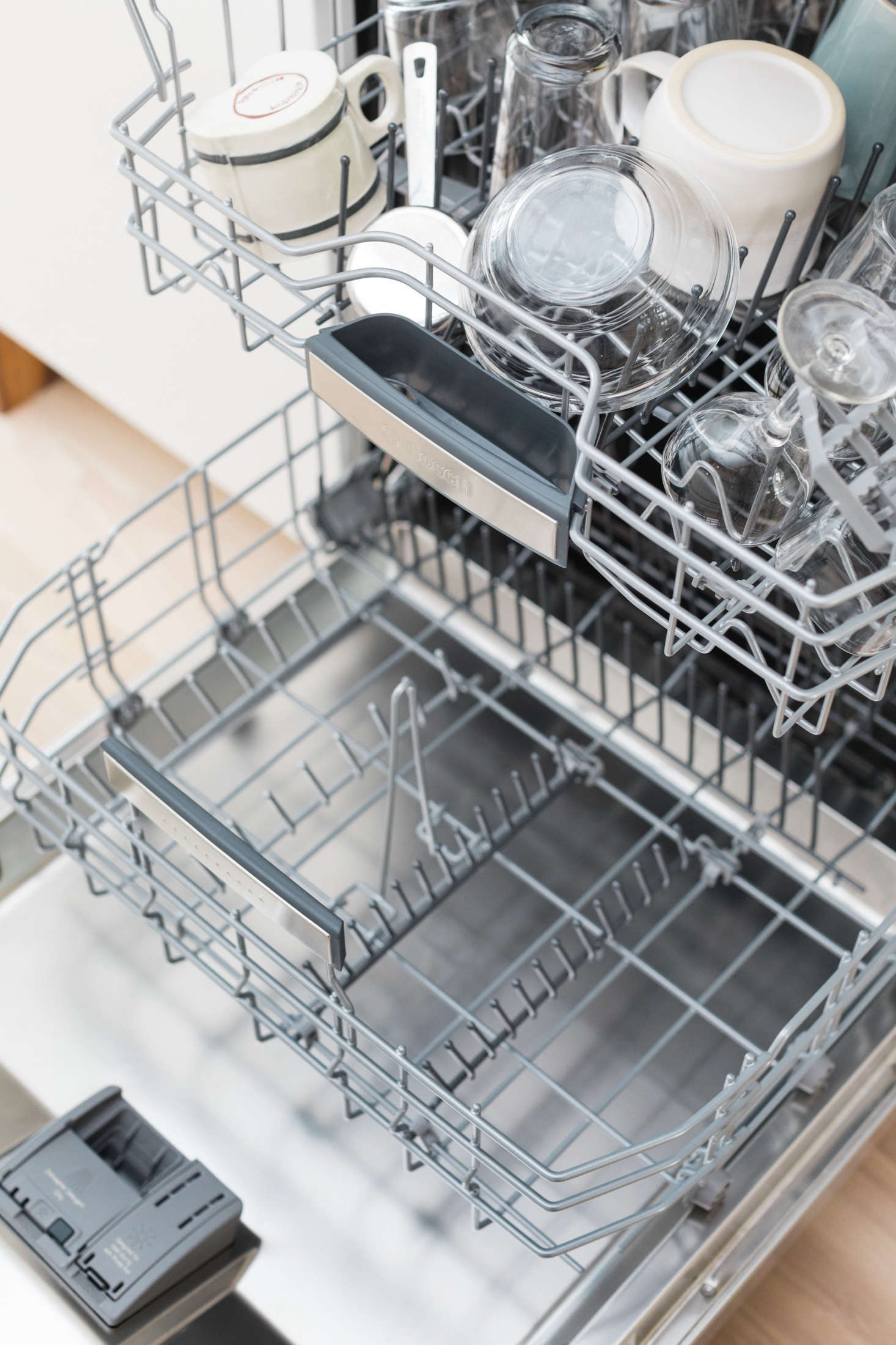 How to load the dishes in the dishwasher: how to use the dishwasher 51
