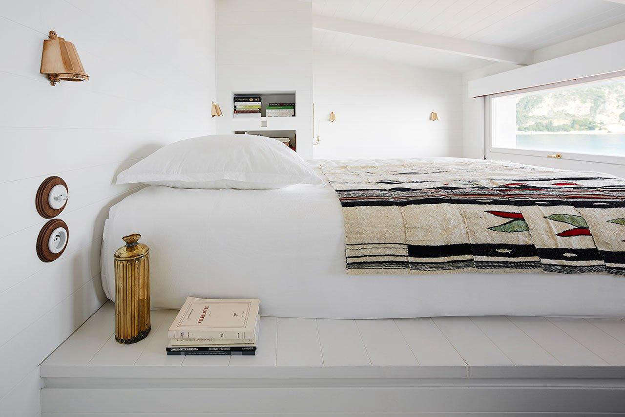 For the interiors of a tiny but glamorous seaside cabin in the south of