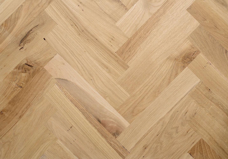 Rustic Oak Parquet Tile