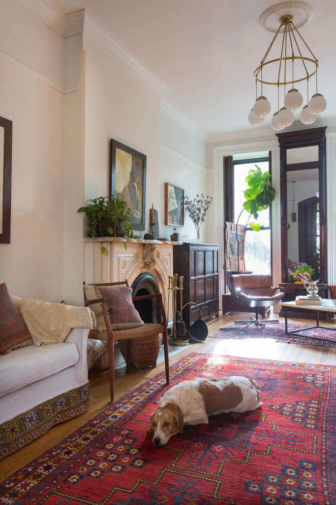 Brooklyn Brownstone Living Room - Remodelista