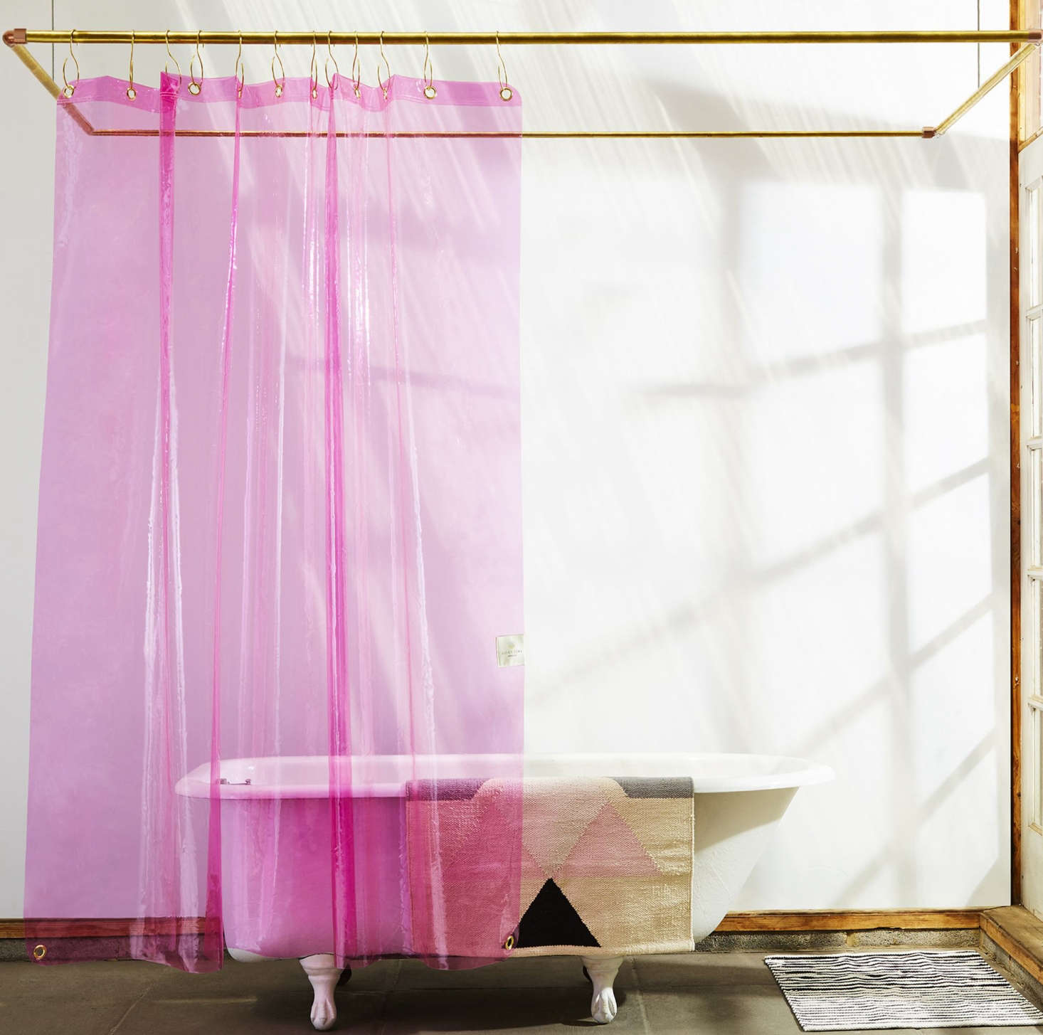 Radical Transparency New Shower Curtains From A Brooklyn