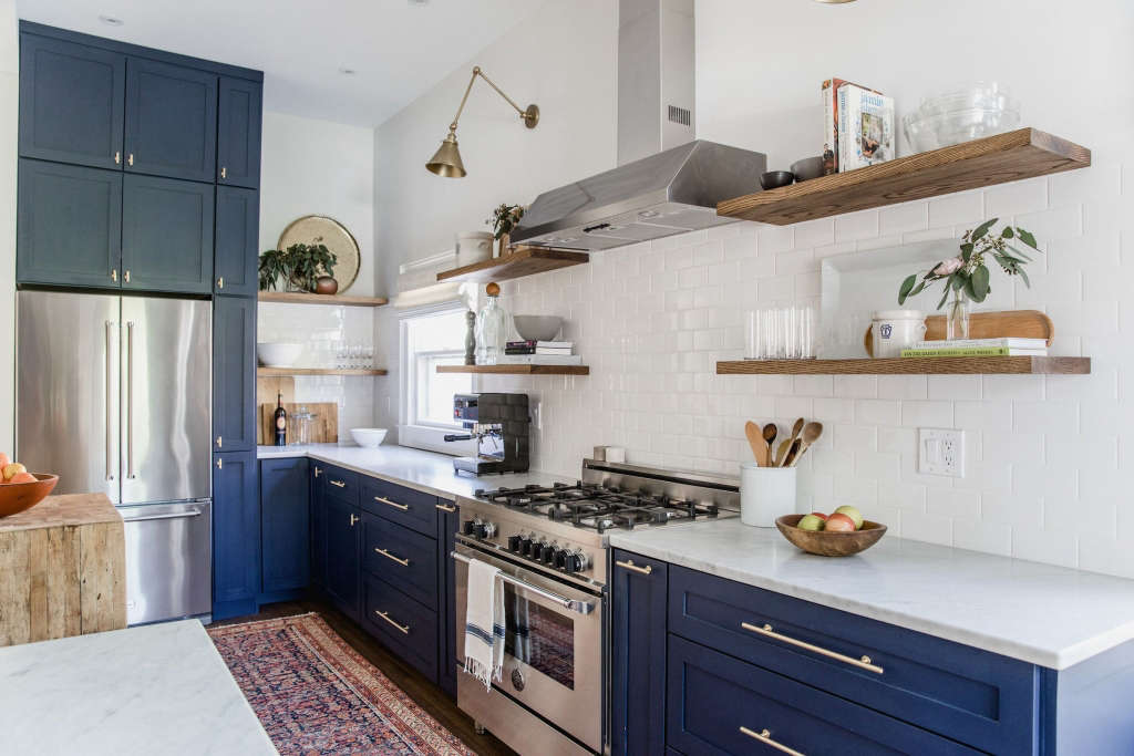 west end eclectic kitchen - remodelista