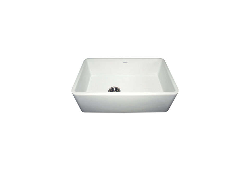 The Whitehaus Collection Farmhaus Fireclay Duet Sink With An A Front Measures 36 By 18 Inches
