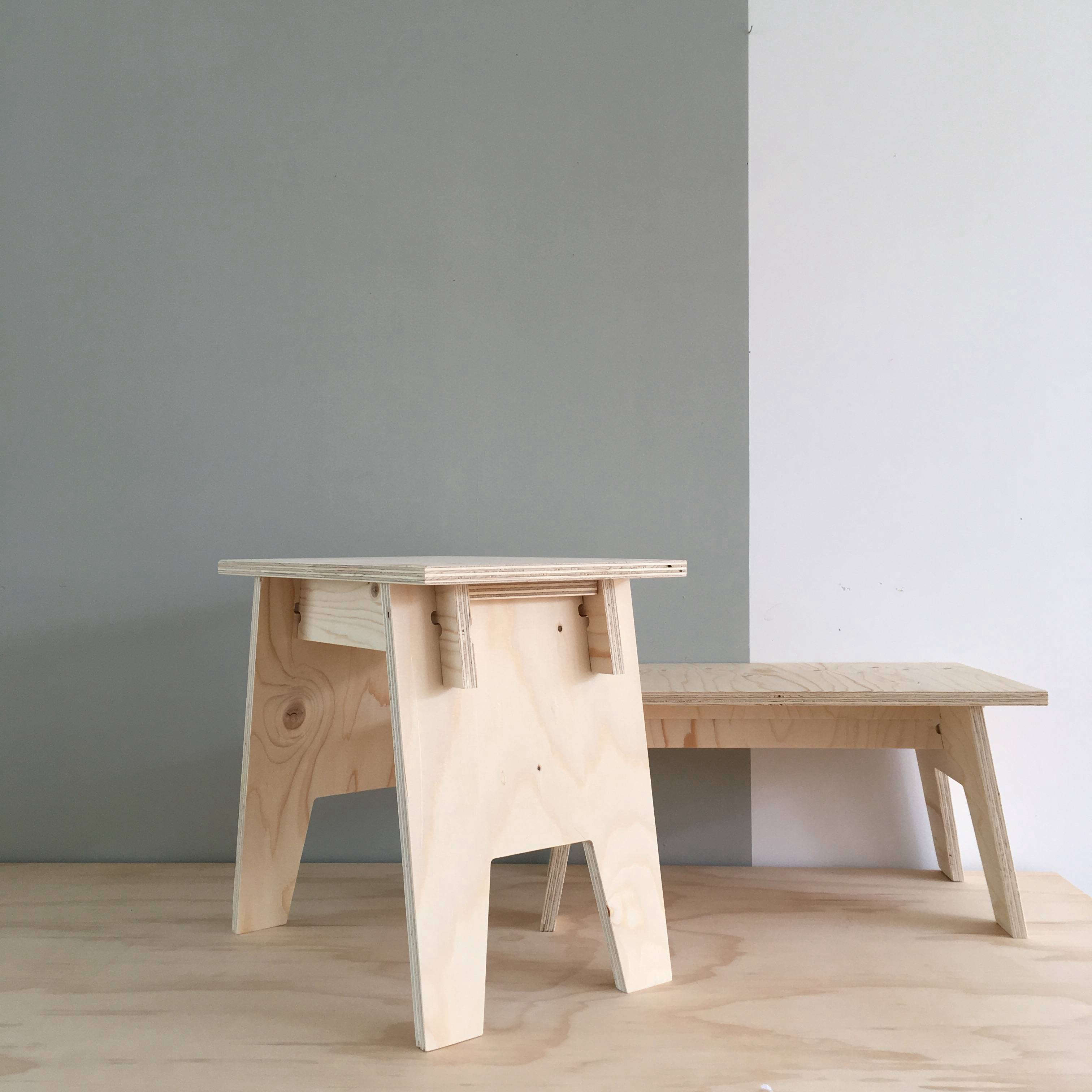 simple honest furniture from woodchuck in the netherlands