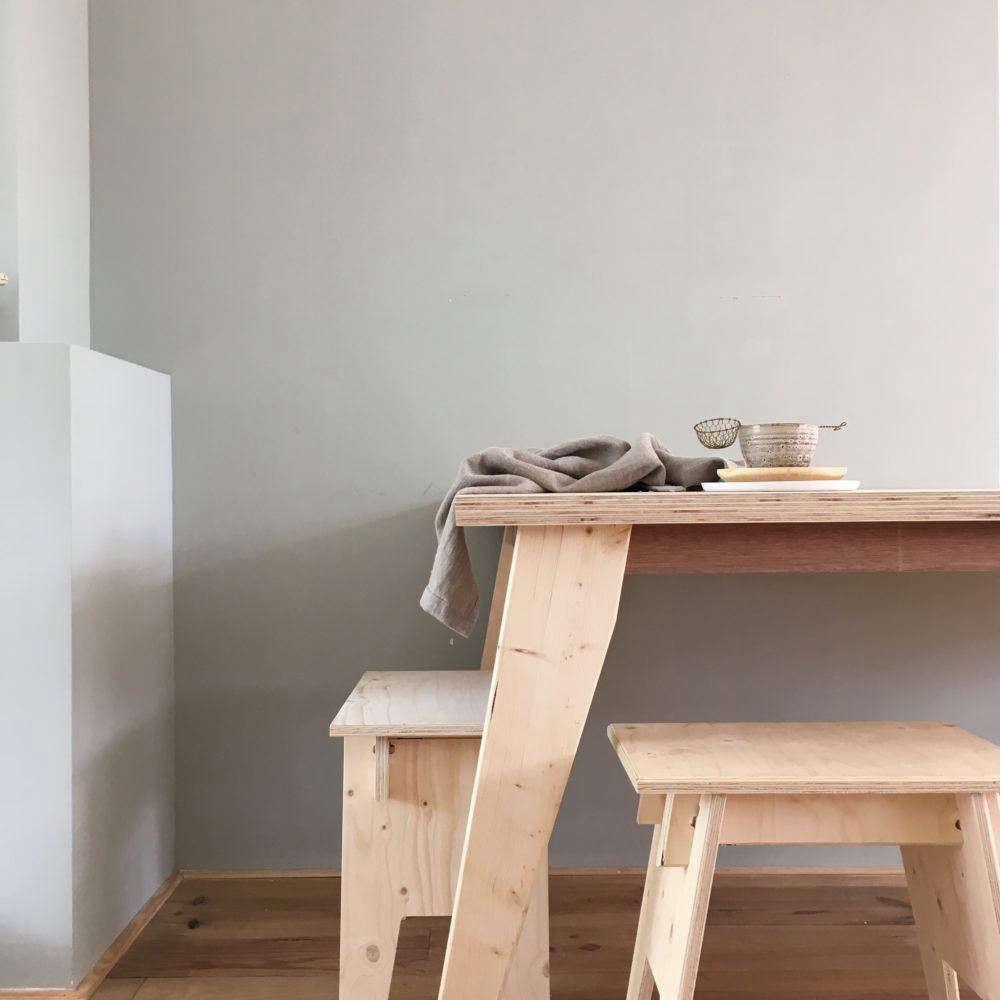 The Katsu Table With Angled Legs Is U20ac900 ($1,026).