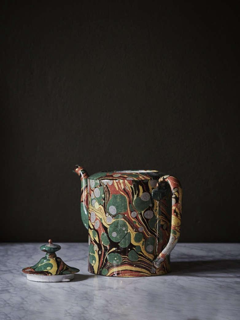 Object Of Desire Marble Teapot From Astier De Villatte