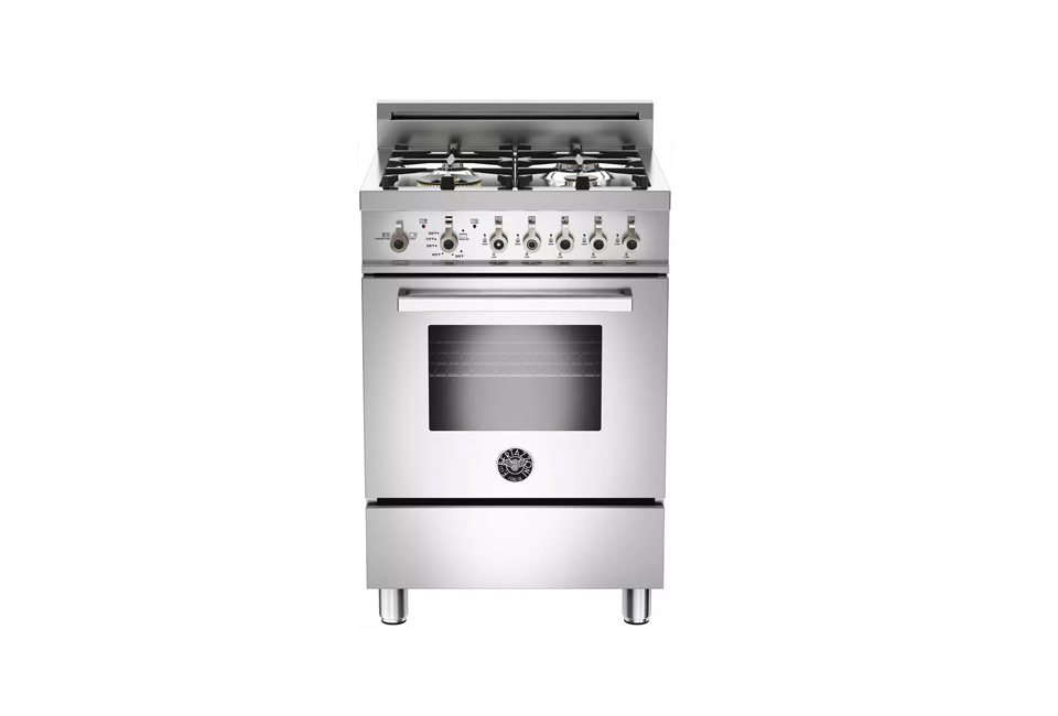 The Bertazzoni Professional Series 24 Inch Gas Freestanding Range is $2,099 at Appliances Connection.