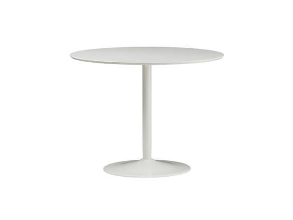 Odyssey White Dining Table - Cb2 white dining table