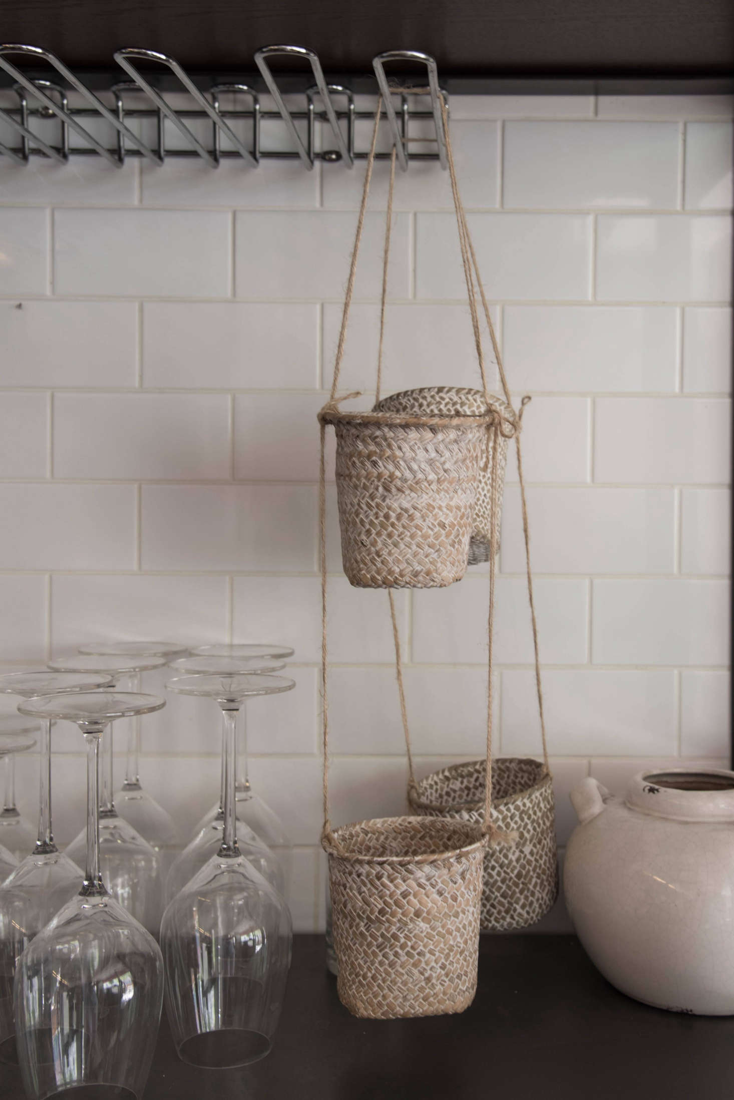 A Quartet Of Baskets From Maisons Du Monde. U201cThey Are Waiting For Me To