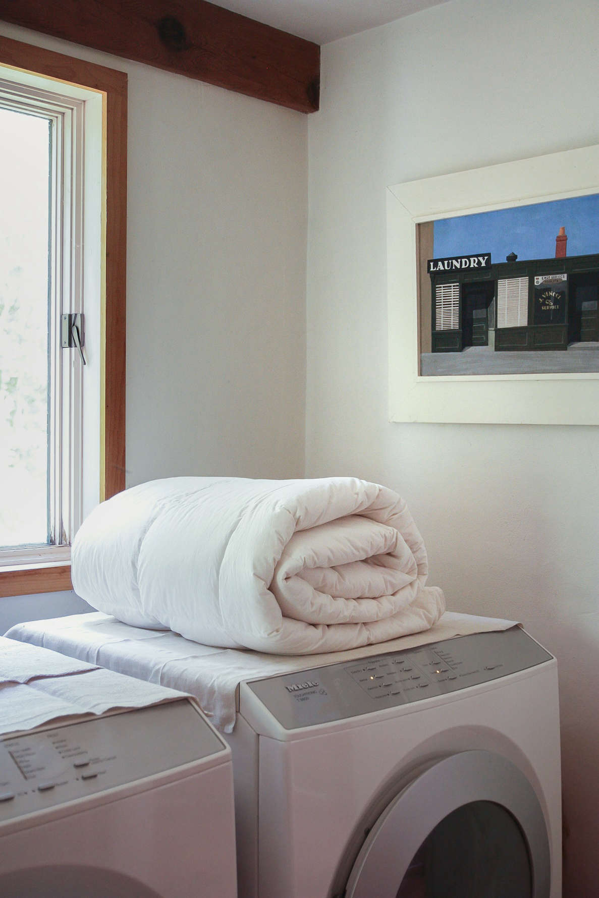 Domestic Science: How to Wash a Down Comforter