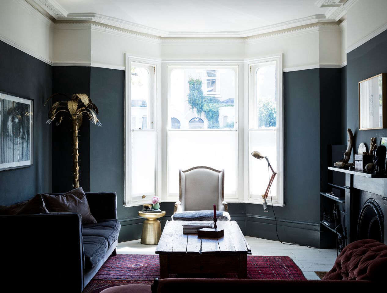 Farrow And Ball Railings Paint going to the dark side with mad about the house in london