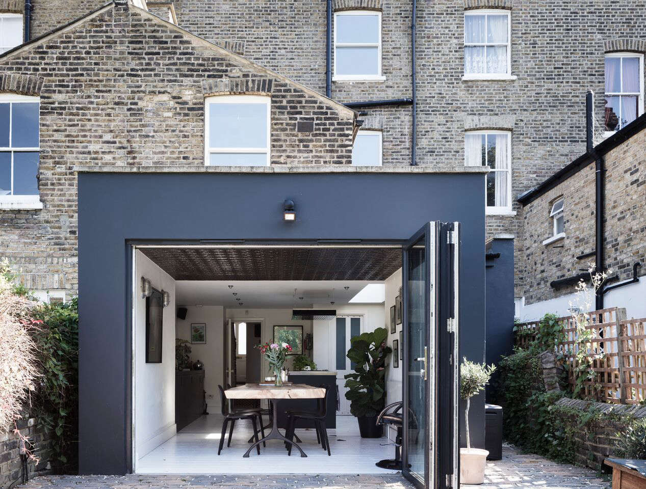 Going to the dark side with mad about the house in london the extension was initially painted in wimborne white from farrow ball the same as jeuxipadfo Image collections