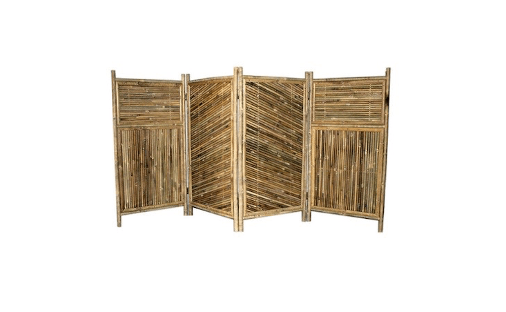Bamboo Screen Enclosure