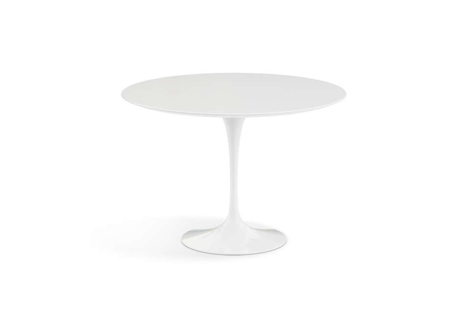 07486a320e90 10 Easy Pieces  Simple White Round Dining Tables - Remodelista