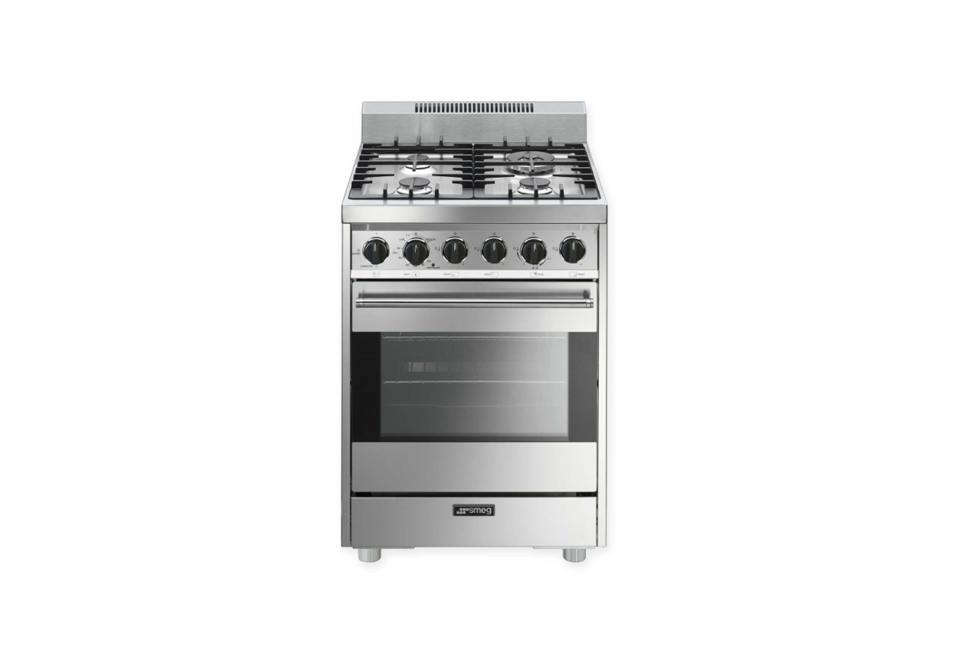 Smeg Pro Style 24 Inch Free Standing Gas Range