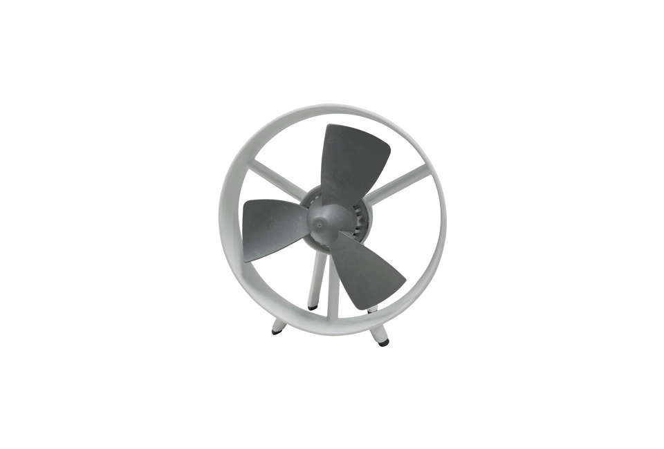 The 10 Inch Tall Soleus Air Soft Blade Table Fan Has Safe To