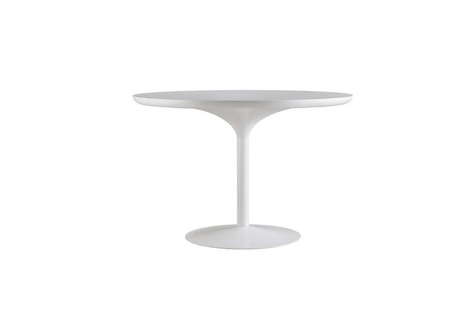 Easy Pieces Simple White Round Dining Tables Remodelista - Cb2 tulip table