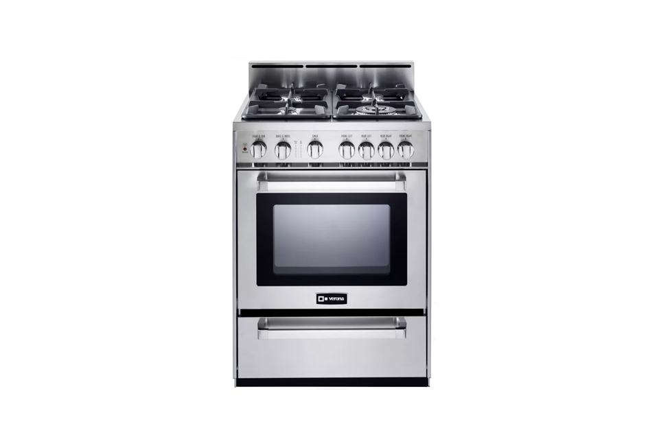 The Verona 24-Inch Freestanding Gas Range is $1,799 ($1,999.59 with professional installation) at Amazon.
