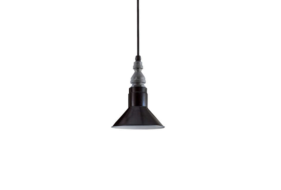 The Barn Light Electric Canal Street SoHo Pendant comes in a few blue shades; $329 at Barn Light Electric.