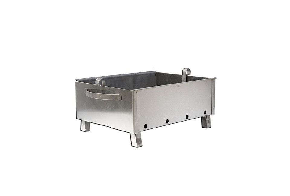 For a countertop option, the stainless steel Kavkaz Mini Grill measures  inches wide and src=