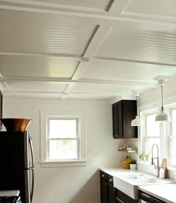 4X8 Beadboard Ceiling | Shelly Lighting