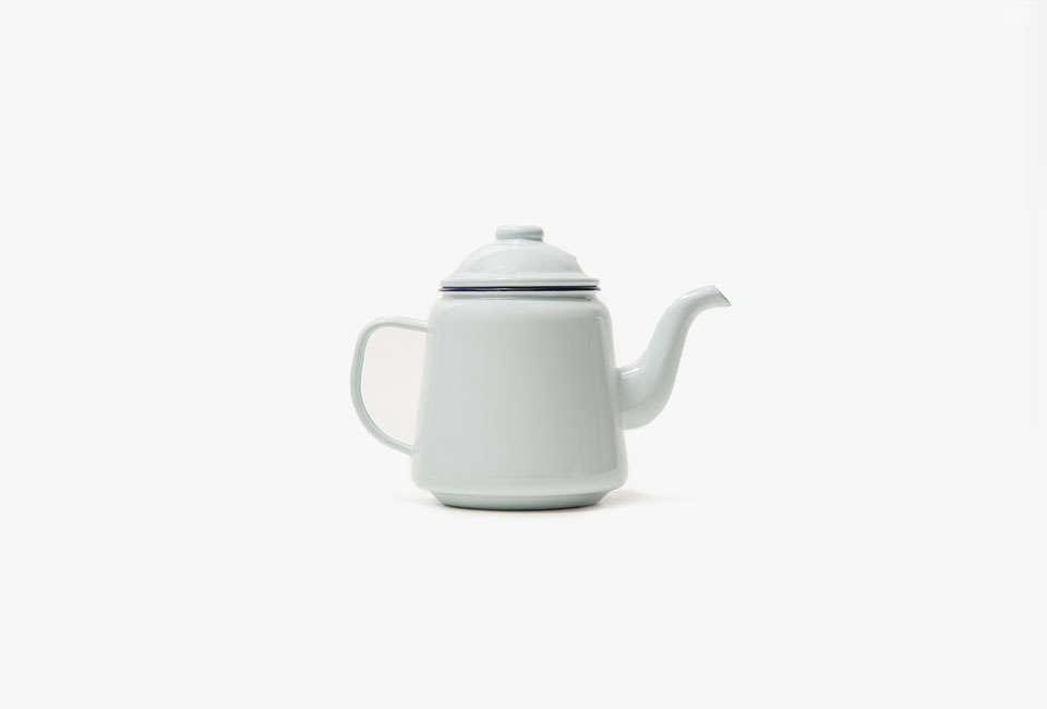 TheFalcon Enamelware Teapot in white is $4src=
