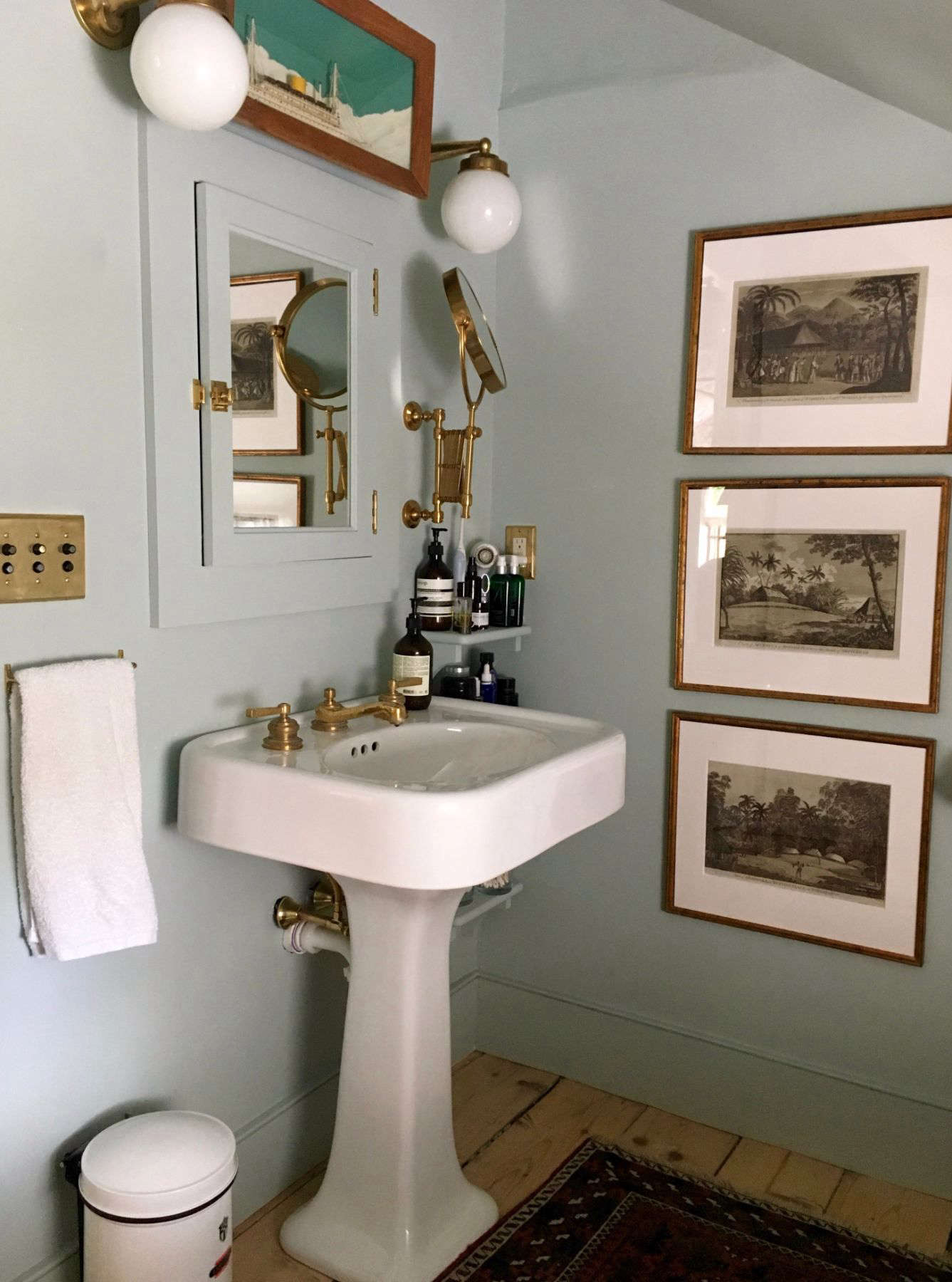 Stunning Best Amateur Bathroom Juliet Feehan us Hudson Valley Farmhouse Bath Remodelista