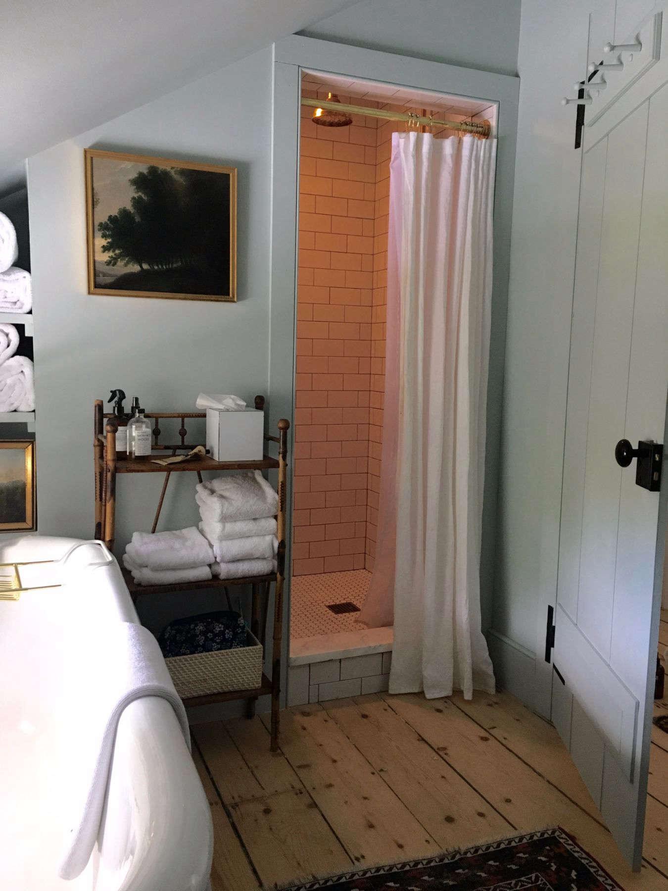 Best Amateur Bathroom: Juliet Feehan's Hudson Valley Farmhouse Bath