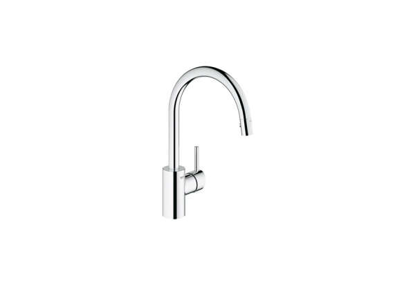 Grohe 32665001 Concetto Single Handle Pull Down Spray Kitchen Faucet