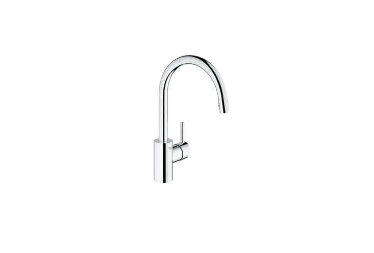 grohe concetto single handle pull down faucet - Modern Kitchen Faucets