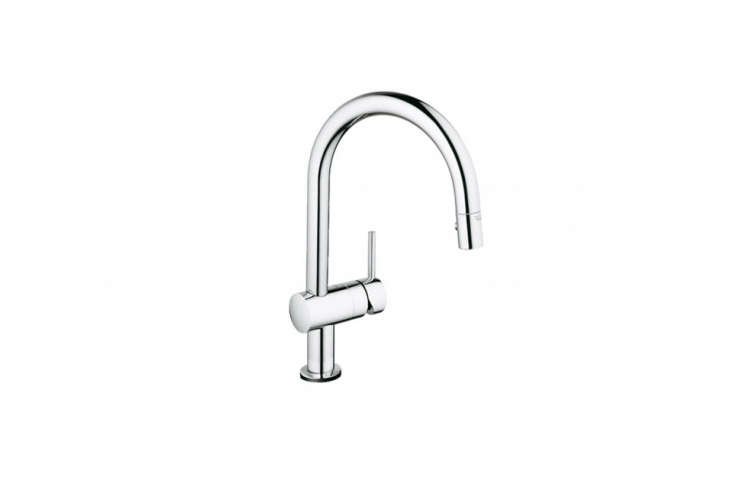 grohe minta pulldown spray kitchen faucet - Modern Kitchen Faucets