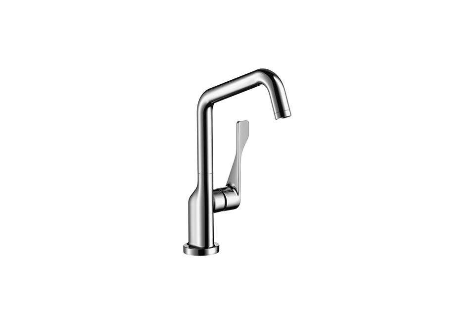 hansgrohe 39850801 axor citterio kitchen faucet steel optik. Black Bedroom Furniture Sets. Home Design Ideas