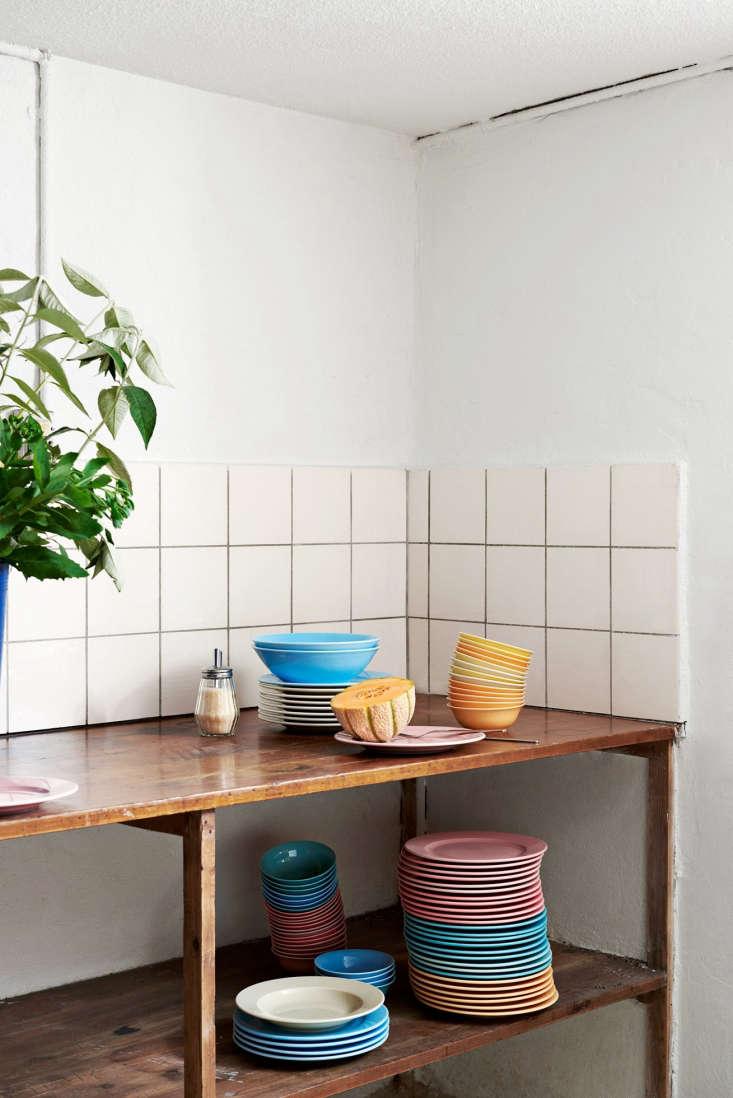 hay kitchen market artful essentials from a copenhagen design duo hay kitchen market rainbow plate