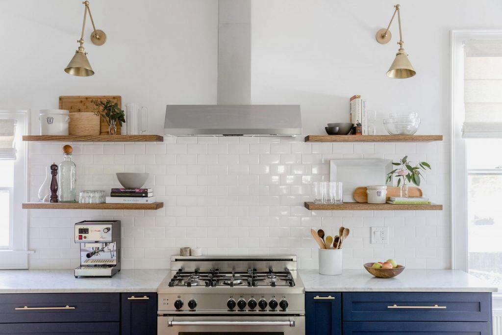 A finalist in our Considered Design Awards Heidi Lachapelleu0027s kitchen in Portland Maine & Trend Alert: The Cult of the Blue Kitchen 10 Favorites - Remodelista