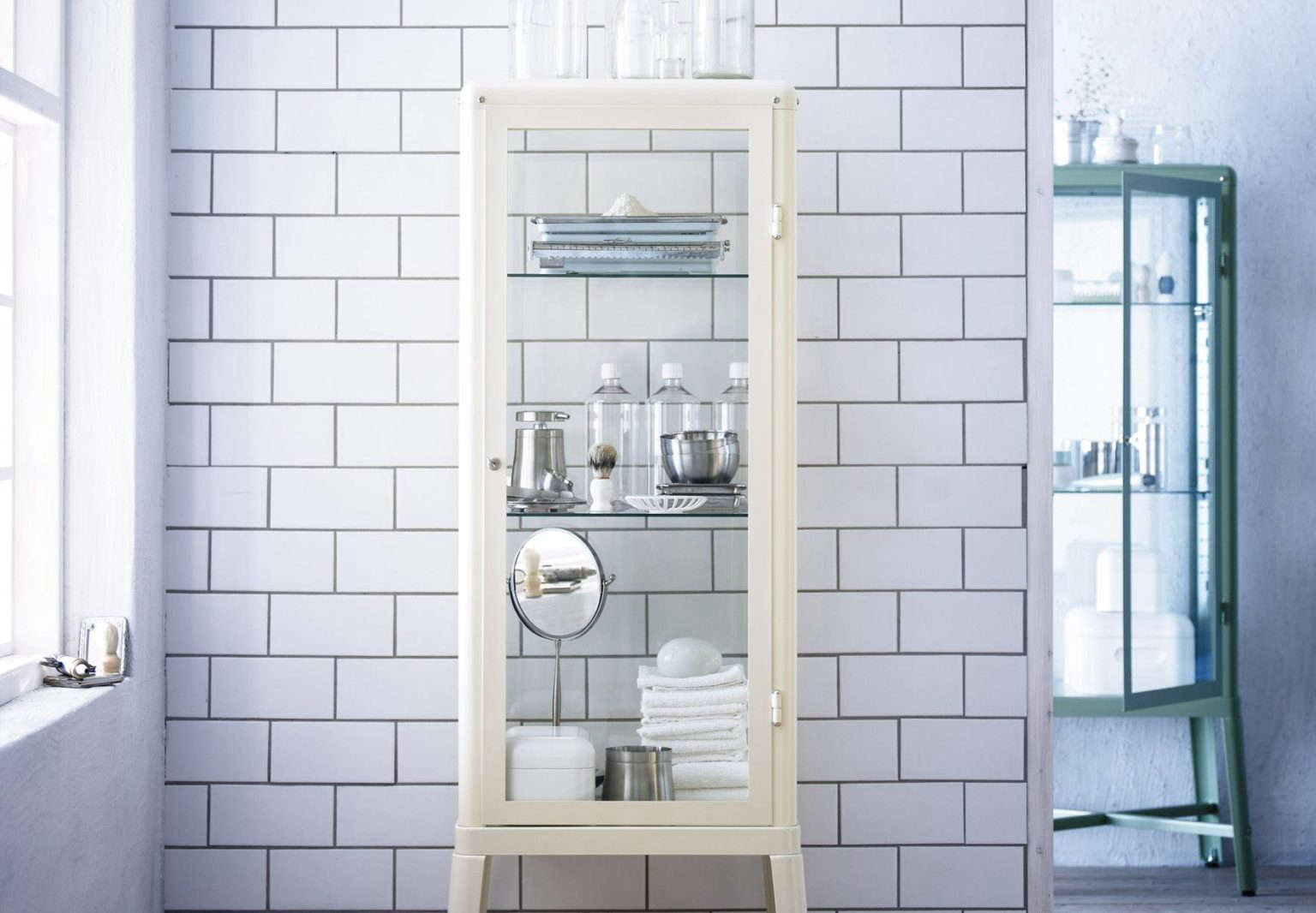 On A Recent Ikea Expedition, I Admired The Many Powder Coated Steel Storage  Options, And In Particular, The Doctoru0027s Office Style Fabrikör Cabinet, ...