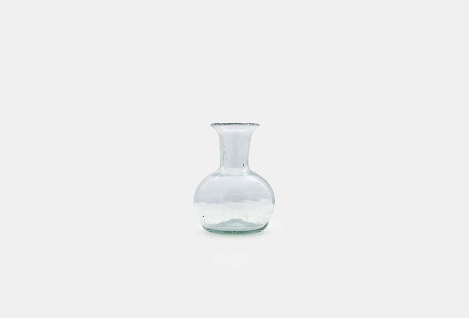 The blown glass Piccola Vase is $20 at HPF Christopher.