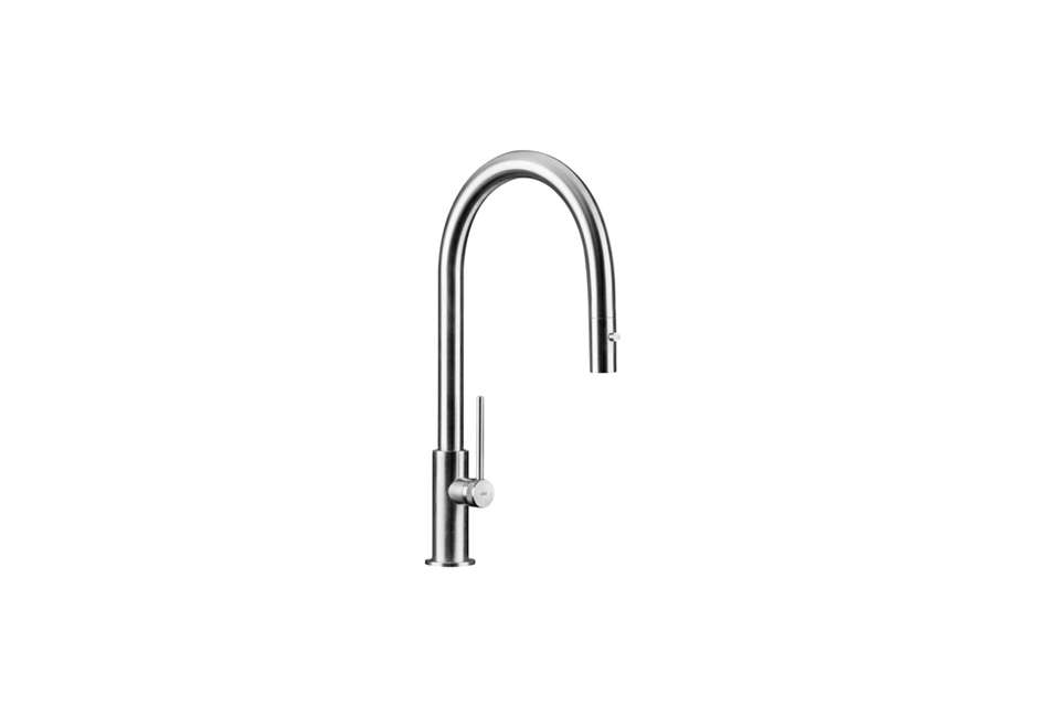 Bon The MGS Spin Kitchen Faucet Is A Single Hole Faucet With A Rotating Spout  And Comes