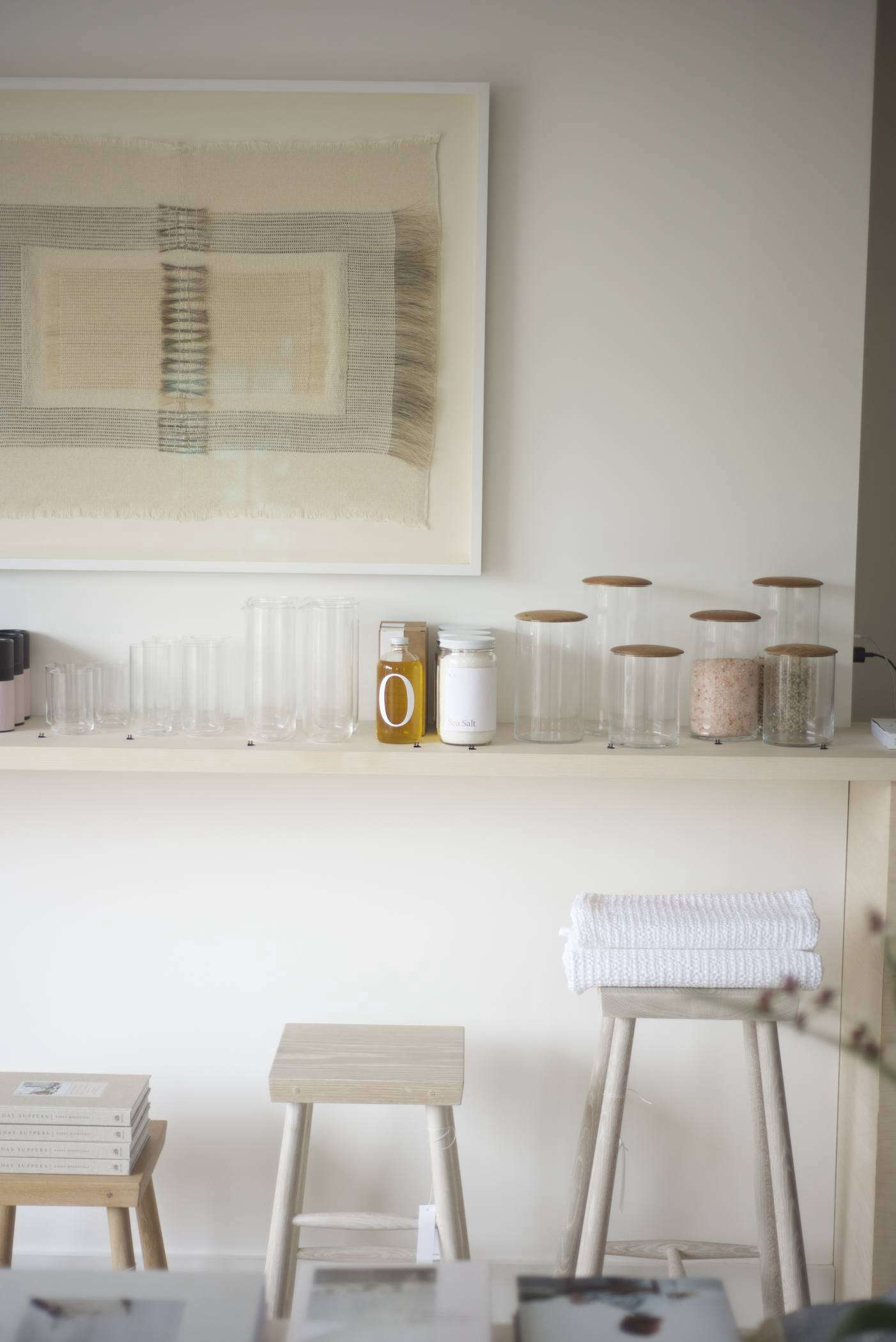 """I don't think homes should be cluttered with things, so I really aim to buy items for the store that are functional, simple, and beautiful,"" said Michaan."
