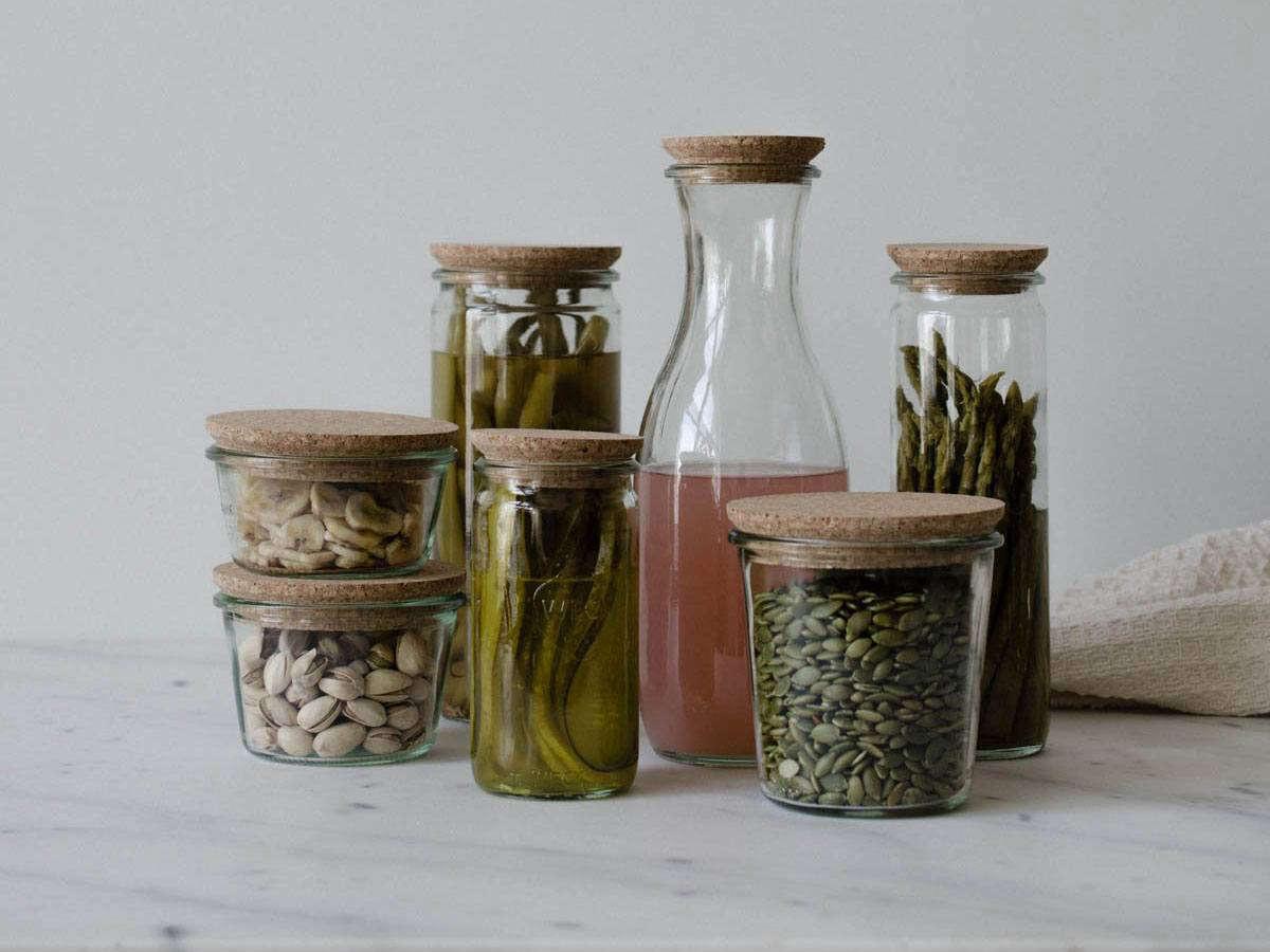 Domestic Science A Cork Lid Hack For Weck Jars Remodelista