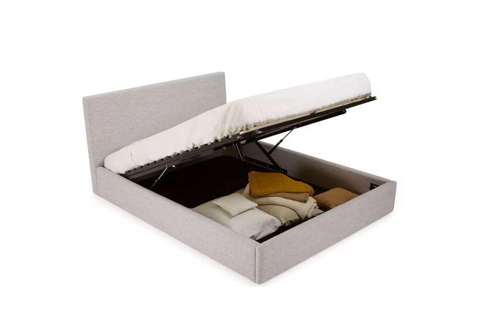 Hydraulic Storage Bed Frame Ikea : Easy pieces storage beds remodelista