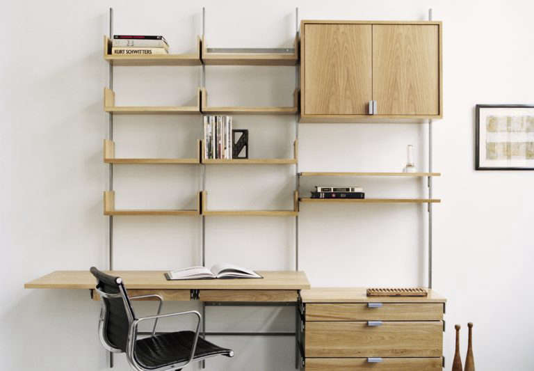 10 Easy Pieces: Wall-Mounted Shelving Systems - Remodelista