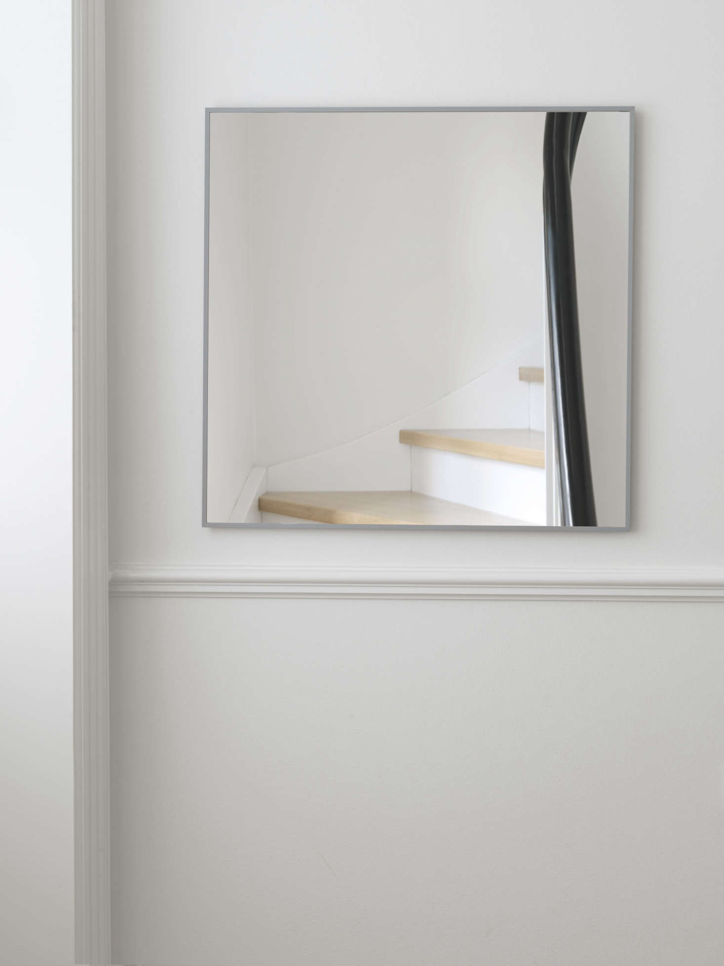 The View mirror in cool gray,starting at €src=
