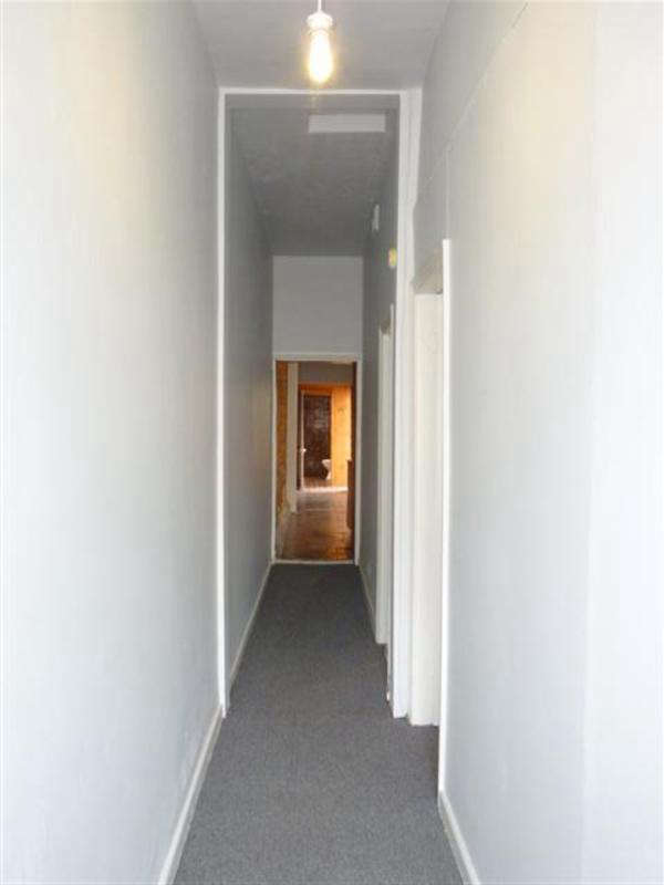 Before, occupants entered the cottage into one long hallway.