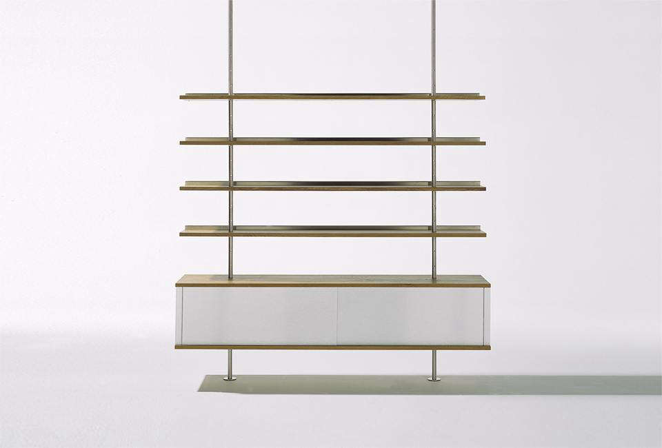 the wall mounted eiermann shelving unit was designed in 1932 by german architect egon eiermann - Bookshelves Wall Mounted