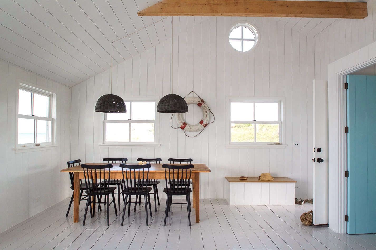 in a cottage perched on a salt marsh in falmouth massachusetts the architect - Paint For Wooden Floor