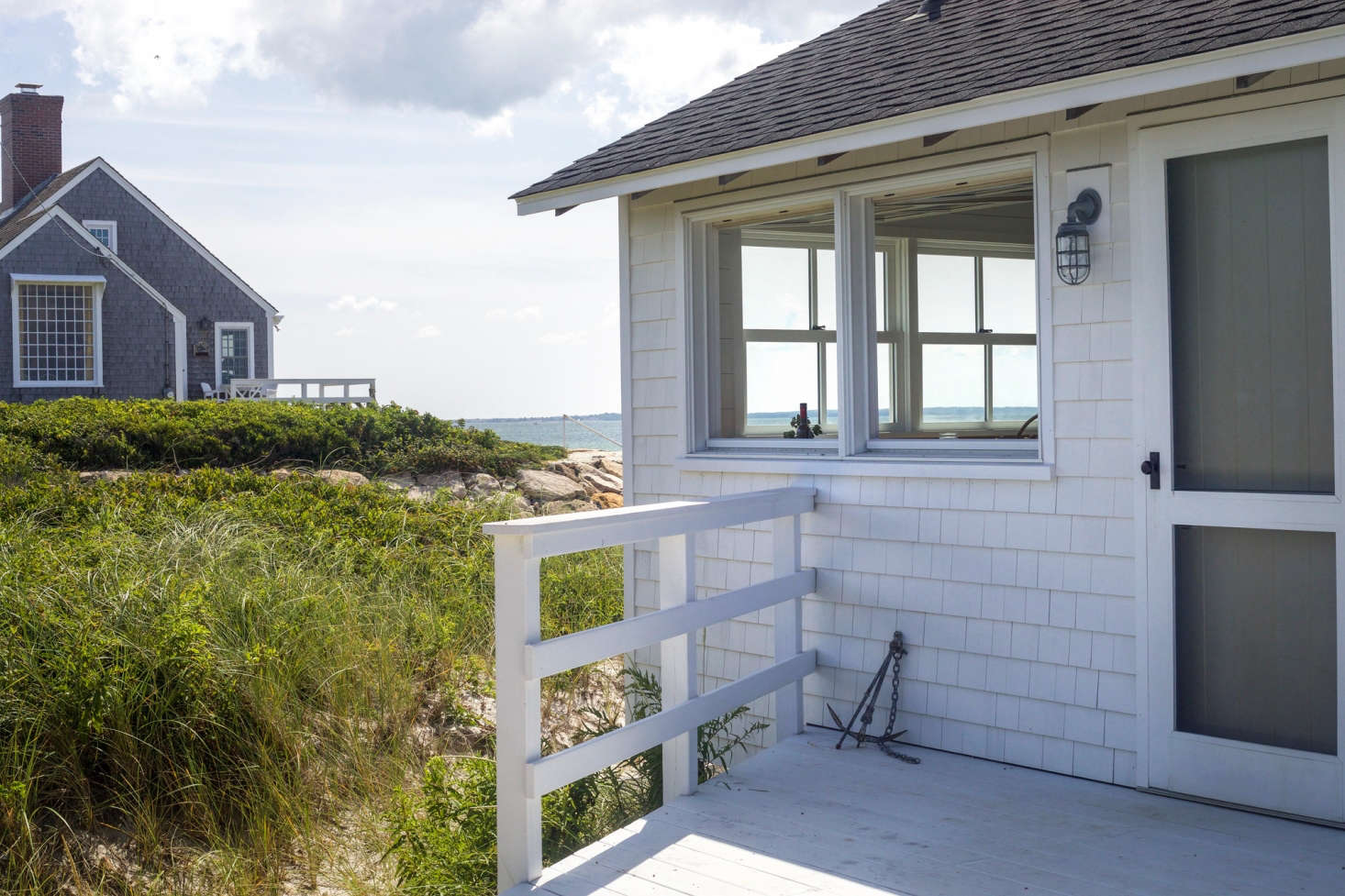 "A throwback to a summer day spent at one of our favorite Cape cottages; see A Shipshape Cape Cod Cottage Inspired by Wes Anderson's ""The Life Aquatic"". Photograph by Justine Hand for Remodelista."