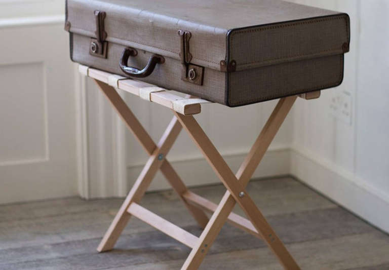 10 Easy Pieces: Folding Luggage Racks for Guest Rooms - Remodelista
