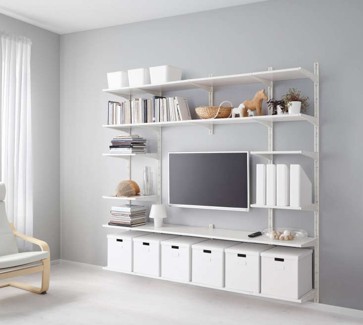 10 Easy Pieces: Wall-Mounted Shelving Systems